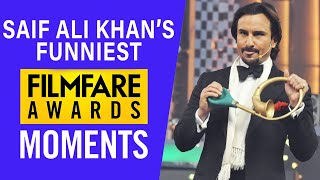 Saif Ali Khan Funniest Filmfare Awards Moments | Filmfare Awards | Saif Ali Khan