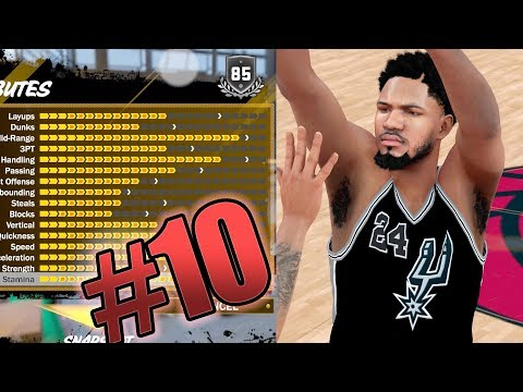 NBA 2k18 MyCAREER - DEADLY MAXED OUT ShotMAKER Attribute Upgrade! Finally Hitting 3s! Ep. 10