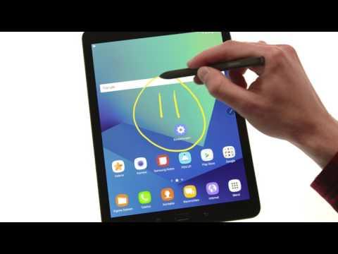 Samsung Galaxy Tab S3: Erstellen von Screenshots