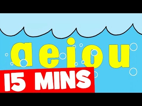 Xxx Mp4 The Vowel Song And More 15mins Phonics Collection For Kids 3gp Sex