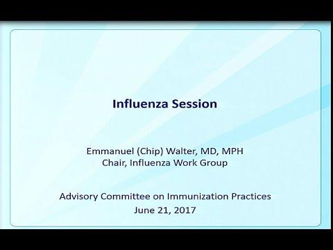 June 2017 ACIP Meeting - Influenza