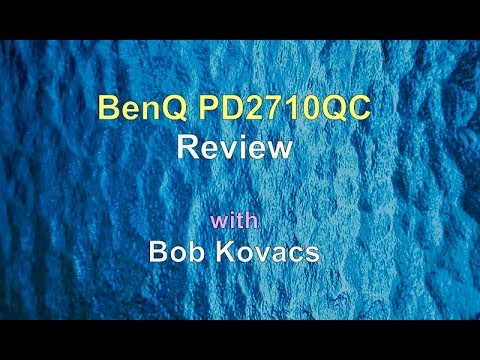 Review of the BenQ PD2710QC Display