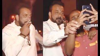 DRUNK Sanjay Dutt Meets Fans & Media Reporters