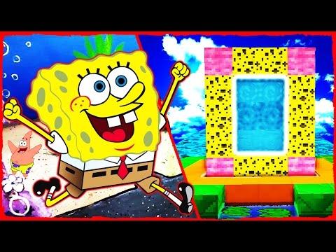 Minecraft SpongeBob - How to Make a Portal to BIKINI BOTTOM
