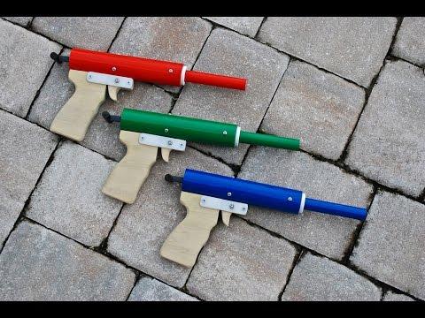 [HOMEMADE] Rainbow Pistol - Homemade Nerf Gun (Revised Design!)