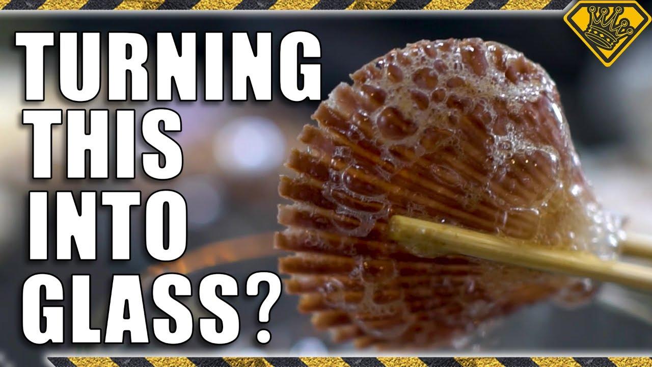 Turning Seashells Into Glass (Debunking Viral Videos)