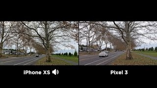Pixel 3 vs iPhone XS - Which shoots better video?