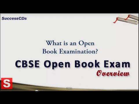 CBSE Open Book Exam System