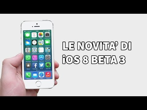 iOS 8 beta 3: cosa cambia?
