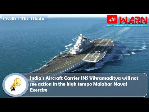India's Aircraft Carrier INS Vikramaditya will not see action in the high