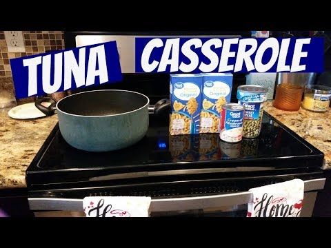 TUNA CASSEROLE~FOODIE FRIDAYS!