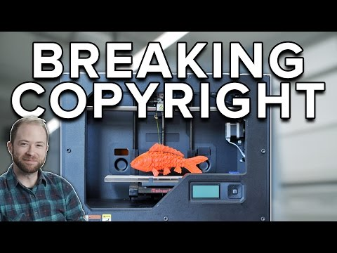 Will 3D Printing Break Copyright?