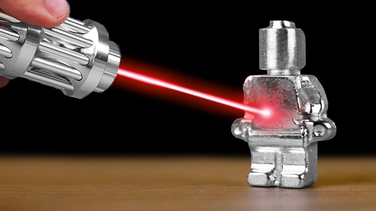 Experiment: Most Powerful Laser VS Gallium