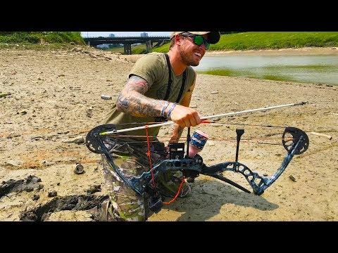 Bowfishing in a SHALLOW CREEK - (FAIL)