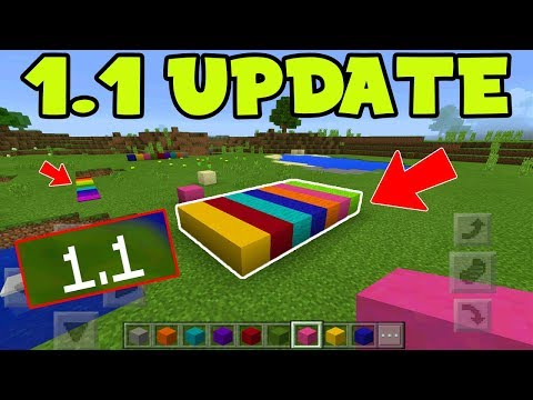 MCPE 1.1 UPDATE FEATURES GAMEPLAY - The Discovery Update!
