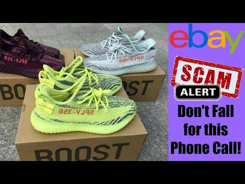 eBay Scam Alert!   Don't Fall for the Kanye West Yeezy Boost Scam 2018