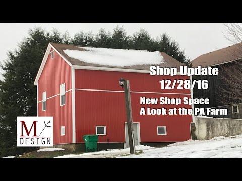 Shop Update 12/28/16
