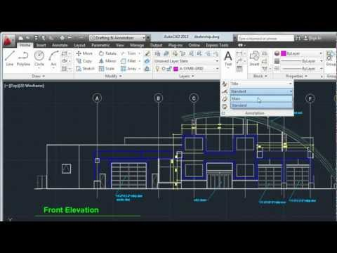 AutoCAD 2013 Tutorial: How To Create Text and Dimensions
