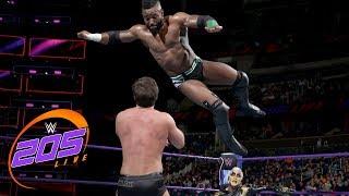 Cedric Alexander & Goldust vs. Drew Gulak & Ariya Daivari: WWE 205 Live, Jan. 2, 2018