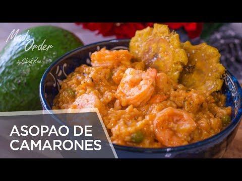 Asopao de Camarones | Shrimp Jambalaya | Dominican Recipes | Made To Order | Chef Zee Cooks