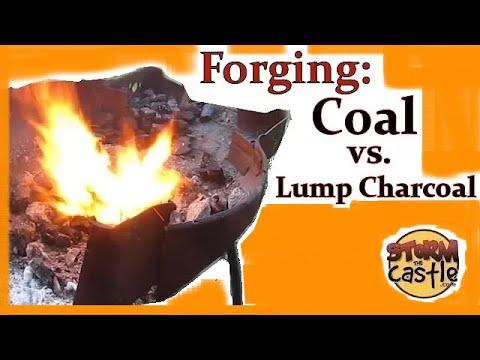 Forging with Coal Versus Hardwood Lump Charcoal