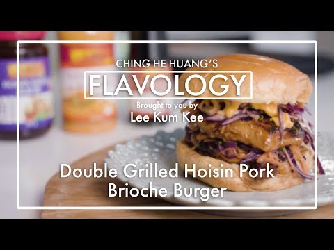 Double Grilled Hoisin Pork Brioche Burger - Flavology by Lee Kum Kee feat. Ching-He Huang