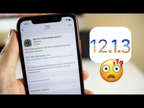 iOS 12.1.3 Beta 2 Released! But Why?