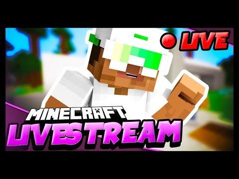 Minecraft Livestream - IP Working Again!