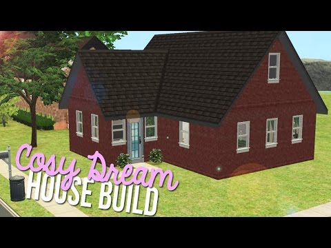 Sims 2 | House Build - Cosy Dream [Cheap Furnished Home]
