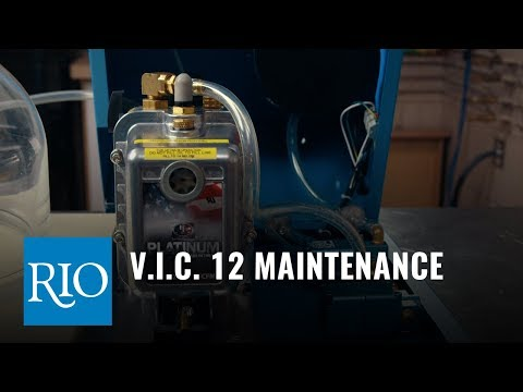 V.I.C. 12 Casting Machine Maintenance