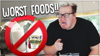 Trying The WORST FOOD COMBINATIONS!