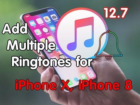 Adding Custom Ringtones for iPhone X, iPhone 8, iPhone 8 Plus