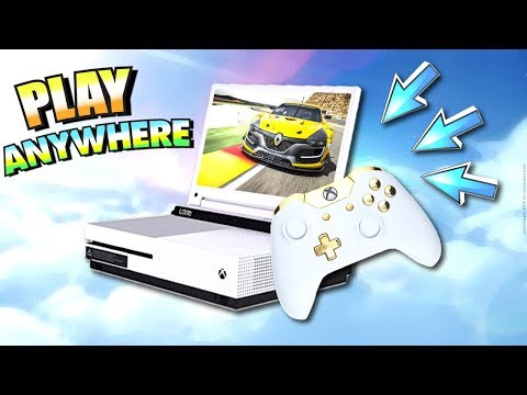 Play Xbox One and PS4 ANYWHERE! (Portable Xbox One / PS4 Setup ) - Unboxing Haul