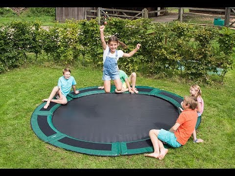 Capital Play | In-Ground Trampoline Assembly & Installation
