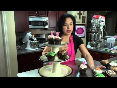 How to Display Cupcakes Without a Stand : Cupcake Creations