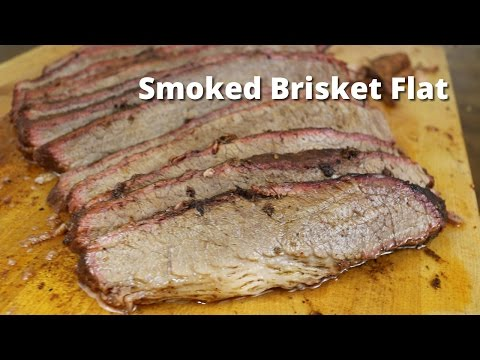 Smoked Brisket Flat | How To Smoke A Beef Brisket Flat on the Big Green Egg