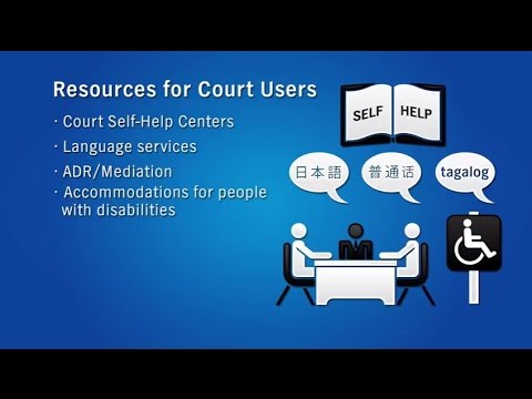 Resources for Court Users