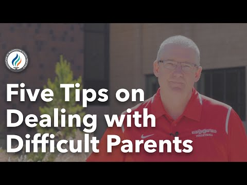 Ken Schutz on Dealing with Difficult Parents