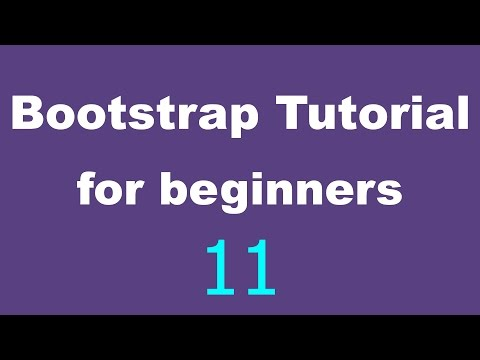 Bootstrap Tutorial for Beginners - 11 - Hidden and multiple classes