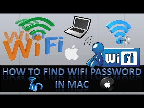 How to Find Wifi password on Mac?