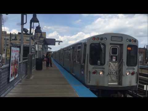 CTA Action in Suburban Chicago