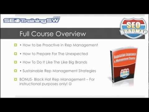 Reputation Management Training Webinar