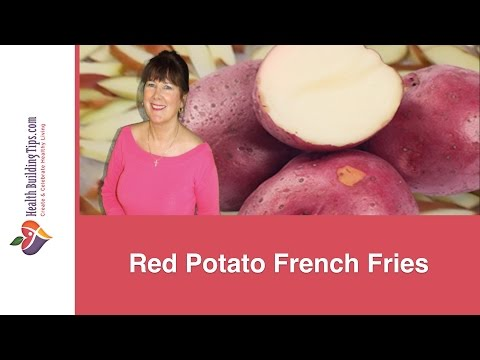 Healthy Red Potato French Fries