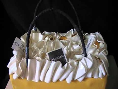 Selfridges Shopping Bag Cake by Awesome Cakes UK