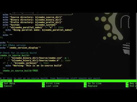 Compile and install CMake with GUI and SSL support