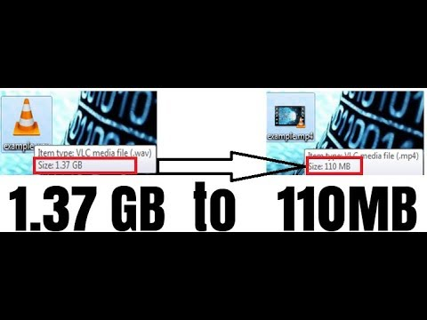 How to REDUCE a video file size WITHOUT losing quality 100% working 2018