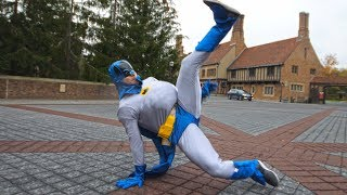 Breakdancing Fat Batman