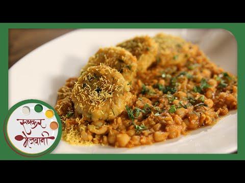 Ragda Patties | Mumbai Street Food Chaat | Recipe by Archana in Marathi | Easy Homemade