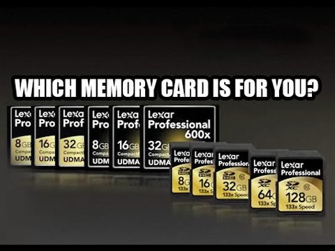 Choosing The Right Memory Card For Your Camera