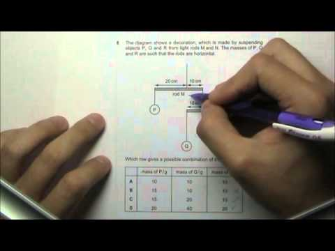 2011 O' Level Physics 5058 Paper 1 Solution Qn 6 to 10